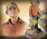 Powerliner Sculpture by Garman Studios 12.5 Inches Tall